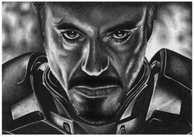 Iron Man - Tony Stark by shonechacko