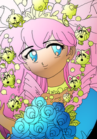 new version of my Wedding Peach Picture by Ka-Kind