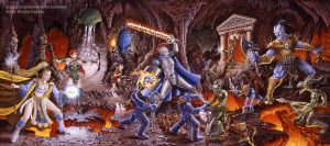 Everquest - Kingdom of Stone by PatrickMcEvoy
