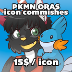 ORAS icon commissions by Siplick
