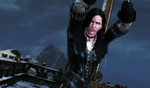 The Witcher 3: Yennefer tied to a pole by benja100