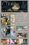 Monter Artbook Order open by m-o-th