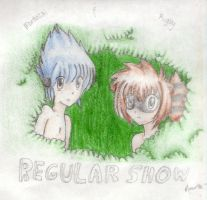 The Regular Show -gijinkas- by OptimisticXEmo