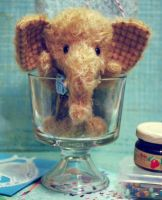 Benny Elephant Cup of Cuteness by ShadowedPorcelain