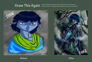 Draw This Again - 6 years by nnaj