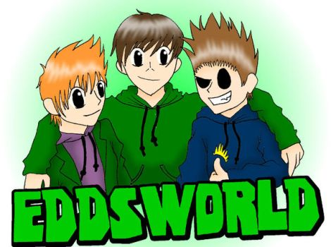 Eddsworld-- Edd, Matt, and Tom by VampiricYoshi