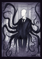 The Slenderman by Schizoideh