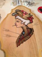 WIP on wood 2 by kerinewton