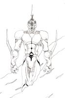 Guyver Unit 01 by ParalaxKaine