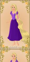 Princess Rapunzel by TFfan234