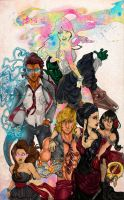 Runaways Group pic by IcarusWing87