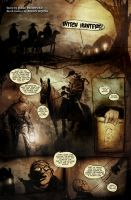 Witch Hunters page 1 by TheNewestRedRanger