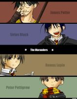 HP - The Marauders by neneno