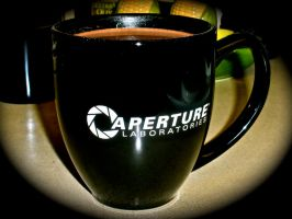 Aperture Labs Mug by DemonBa55Player