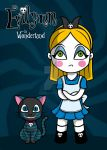 Concept/project : Evilynn in Wonderland. by Satanisapunk