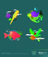 Gaia09 Dock Icons Pack by lethalNIK-ART