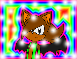 Alex Sprint the Hedgebat new look by SonicUS1000