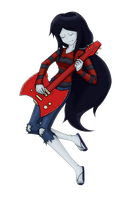 Marceline by D3-shadow-wolf