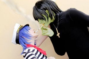Gorillaz: Lend me a Light by SugarBunnyCosplay