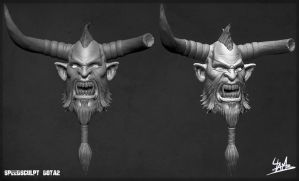 Speed sculpt Dota2 Centaur by Ulamb