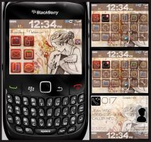 'evolve' blackberry theme by mylifeonpaper