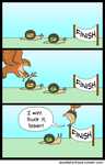 If you're not first, you're last by DoodleForFood
