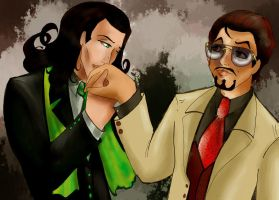 Young Person's Guide to the Orchestra Tony x Loki by dporgasmatron