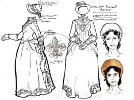 costume design - charlotte by far-eviler