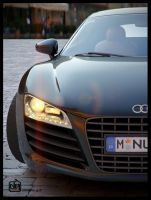 Audi R8 Frontal by deguff