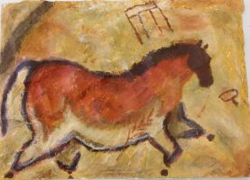 Cave painting by I-O-U-a-picture