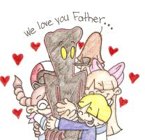 We Love You Father by Numbuh-9