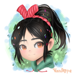 Vanellope by Unichrome-uni