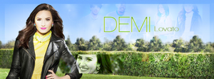 Demi Lovato Facebook Cover by tayloralwaysperfect