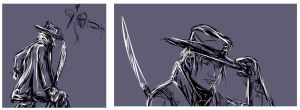 Mats Sketches - Wheel of Time by endave