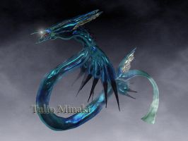 Final Fantasy VIII Leviathan by TulioMinaki