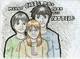 Merry Christmas--Potters by periru3