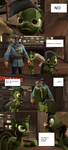 Strict Soldier and Blitzkrieg comic page 2 by GaryD12