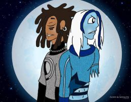 Floyd and Sodalite by ThaMaJesticArtist