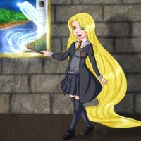 Tangled: Rapunzels Patronus by MariAle-art