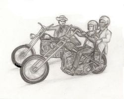 Easy Riders 1969 by debby0305