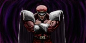 M.Bison by masterpanos