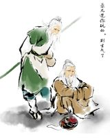 Two old men by youxiandaxia