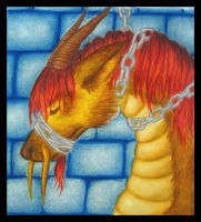 Dragon Prisoner by Mermaid-Kalo