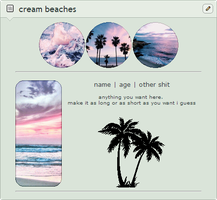 cream beaches F2U non-core page code by cal-vain