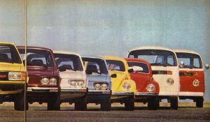1980 VW's brazilian line-up by broettonavarro