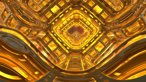 Daily Fractal Wallpaper no8 - World Engine by Dr-Pen