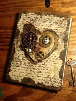 The clockwork heart journal by ArtbugCarl