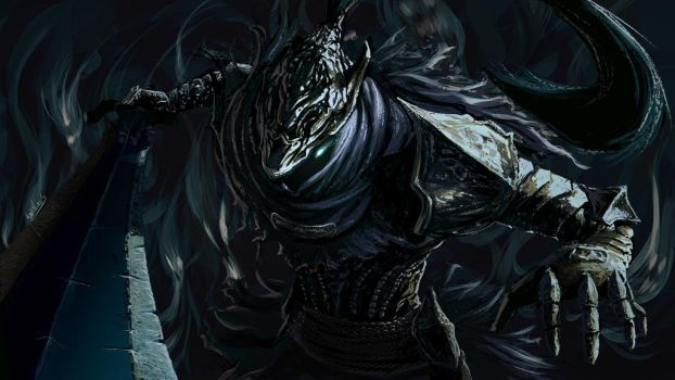 Artorias the abyssal lord by Anti-Viirus