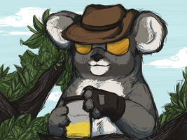 TF2: That sniper is a Koala by CatLuvsCookies