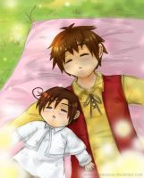 APH-Spain and Romano siesta by shunkancat